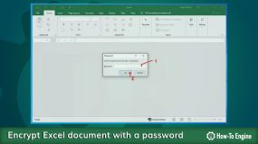 How to protect your Excel document with a password