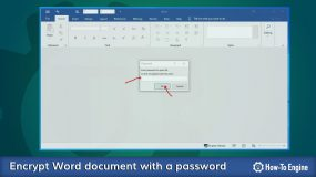 How to protect your Word document with a password