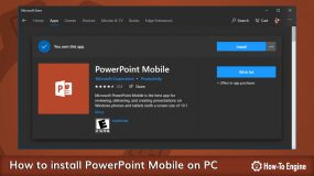 How to install PowerPoint Mobile on your Windows 10 PC for Free